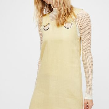 Free People The Linen Shift Dress