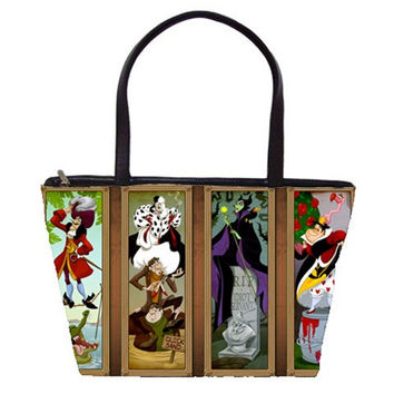 Disney Villains Double Sided Tote Bag (Free U.S Shipping)