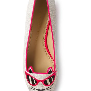 Charlotte Olympia 'Sunkissed Kitty'
