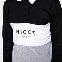 Nicce Rugby T-Shirt Exclusive To ASOS