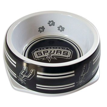 San Antonio Spurs Slam Dunk Large Pet Bowl