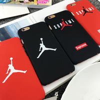 Fashion Supreme flyman Michael Jordan case for iphone 5/5s 6 6s plus back mate hard cover carcasa capa fundas coque for iphone
