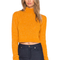 SHAE Margo Sweater in Whiskey