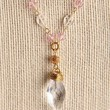 Handmade Swarovski Bridal Necklace , 15 inches, 22k Gold plated | peaceloveandallthingsjewelry - Wedding on ArtFire