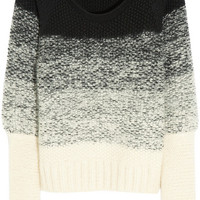 Maiyet |  Degradé chunky-knit mohair-blend sweater | NET-A-PORTER.COM
