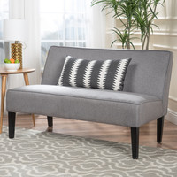 Chandler Grey Fabric Love Seat