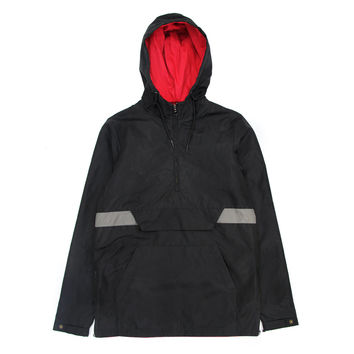 Easton Windbreaker Anorak - Black