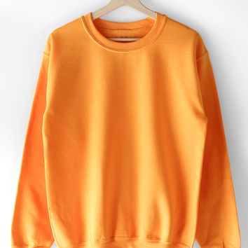 Basic Sweatshirt - Gold