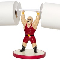 THE GREAT GLUTY S MAXIMUS TOILET PAPER HOLDER