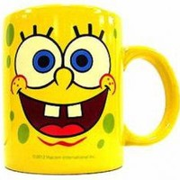 ROCKWORLDEAST - SpongeBob SquarePants, Coffee Mug, Face