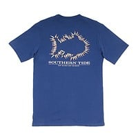 Keep 'Em Cold T-Shirt in Yacht Blue by Southern Tide - FINAL SALE