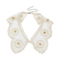 Fabric Lace Collar