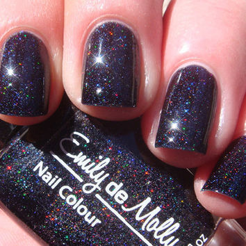 Nail polish  Dark Crystal micro holographic by EmilydeMolly