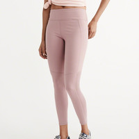 Womens Active Mesh Back Leggings | Womens New Arrivals | Abercrombie.com