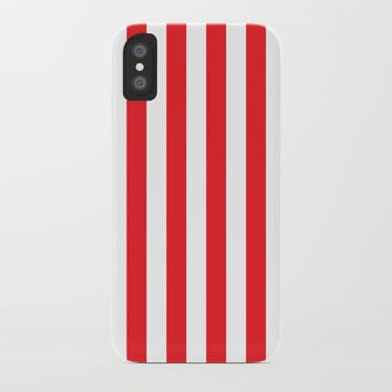 Vertical Red Stripes by CoolFunAwesomeTime