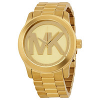 Michael Kors Quartz Gold-tone Bracelet Ladies Watch