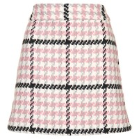 Check Mini Skirt - Topshop