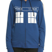 Doctor Who TARDIS Flying Girls Hoodie