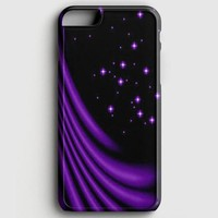 Purple Stars iPhone 7 Case