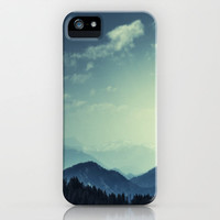 Mountains iPhone & iPod Case by Christian Solf