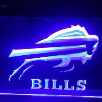 b-195 buffalo bills beer bar pub club 3d signs LED Neon Light Sign man cave