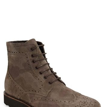 Men's Boemos Camo Wingtip