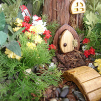 Fairy Door Gnome Door Hobbit Door Elf Door Troll Door by casualee
