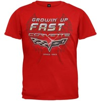 Chevrolet - Growing Up Fast Corvette Youth T-Shirt