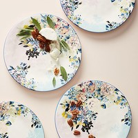 Gardenshire Dinner Plates, Set of 4