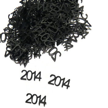2014 Confetti - New Year - Graduation Party - Wedding Decor - Baby Shower - 100 Pieces