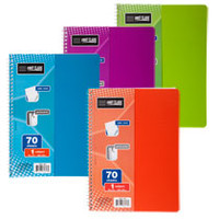 Bulk Bright Poly Cover Spiral Notebooks, 70-Sheet at DollarTree.com