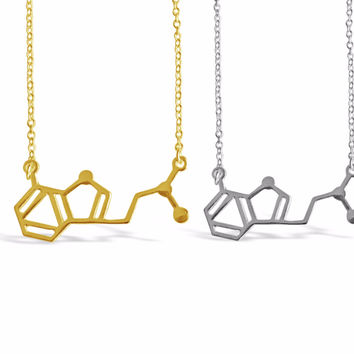 DMT Molecule Necklace - DNA Necklaces