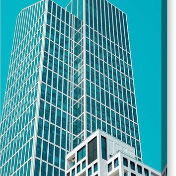 Urban Architecture - Frankfurt, Germany - Canvas Print