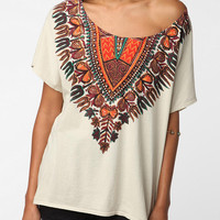 Title Unknown Plains Necklace Dolman Tee