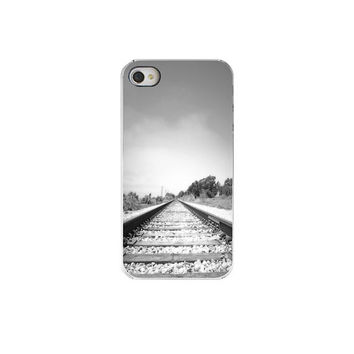 Train Tracks Phone  Caseiphone  Fathers Day by Maddenphotography