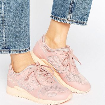 Asics Mesh Gel-Lyte Iii Trainers In Pink at asos.com
