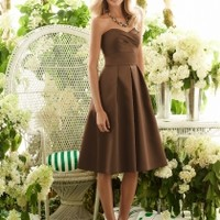 Brown Bridesmaid Dresses - BridesmaidDesigners