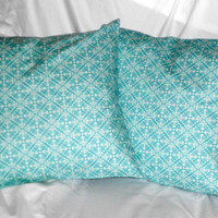 Blue Damask Pillow Covers Blue Throw Pillos 16 X 16 inch