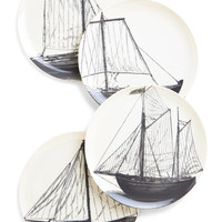 Nautical Mainsail Course Plate Set by ModCloth