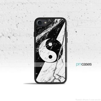 Marble Yin Yang Phone Case Cover for Apple iPhone iPod Samsung Galaxy S & Note