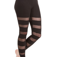 ModCloth 80s Skinny Stylize Your Stride Leggings