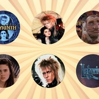 Labyrinth Set of 6 - 1 Inch Pinback Buttons