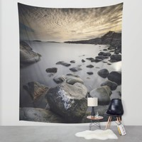 Open my eyes Wall Tapestry by HappyMelvin