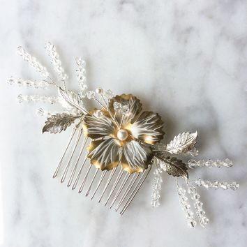Arctica Bridal Hair Comb - Christine Elizabeth Jewelry