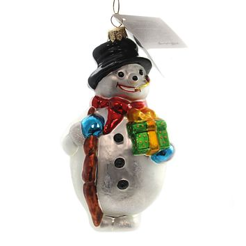 Christopher Radko Mr. Iceburg. Glass Ornament