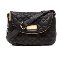 Marc by Marc Jacobs New Q Natasha Quilted Crossbody in Black