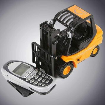RC 6-Channel Forklift Radio Remote Control Fork Lift Truck Car Kid Children Toys