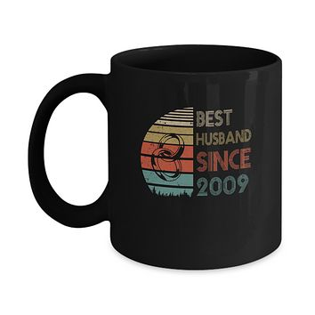 10th Wedding Anniversary Gifts Best Husband Since 2009 Mug