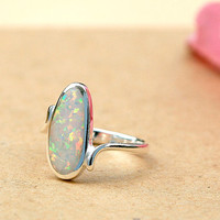 Opal Ring,Geode ring,gemstone ring,Agate ring,Mothers day gift,Mother ring,Mom jewelry,Woman ring