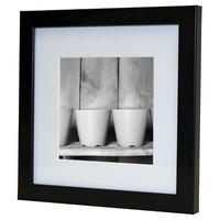 Photo Frame 6x6 Mat to 4x4 Instagram - Black